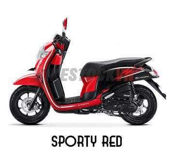 HONDA SCOOPY110 2018 SPORTY RED