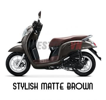 HONDA SCOOPY110 2018 STYLISH MATTE BROMN
